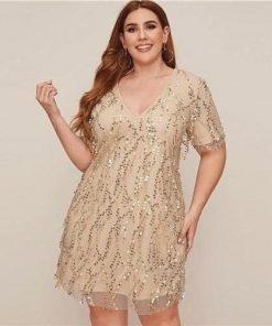 Bohemian Kleid große Größe